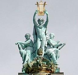 statues opéra