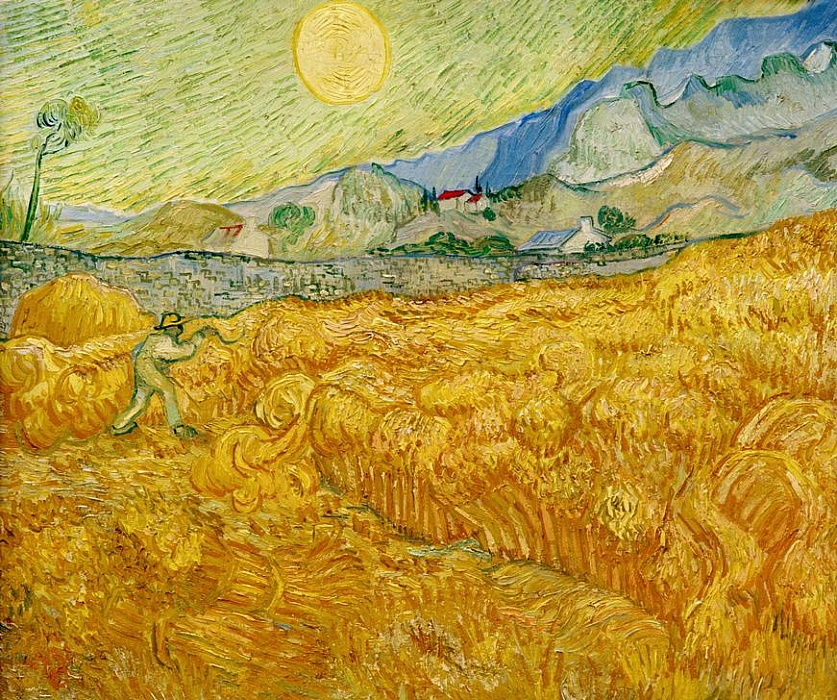 Vincent van Gogh - Die Ernte - (MeisterDrucke-680595)