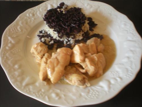 At janv 14-Poulet coco avec riz noir et blanc.JPG