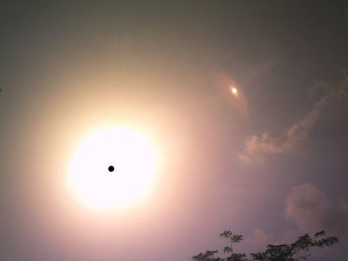 Images dans le soleil 1