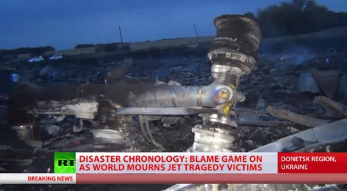 MH17 train atterrissage TV américaine.jpg