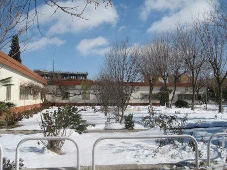 IFEP de sétif sous la neige (février 2013)