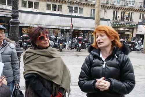 DSC00165[2]image avec Murielle Mayette de la comédie française.JPG