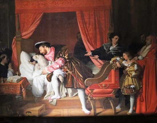 François 1er reçoit les derniers soupirs de Léonard de vinci  11 octobre 20162T5A2347[1].jpg
