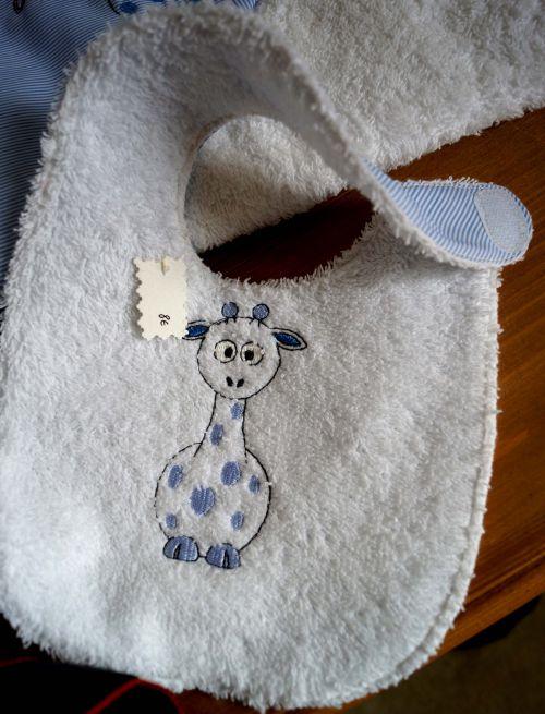 Bavoir girafe