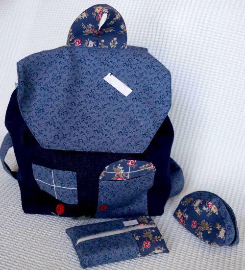 Petit sac à dos en jeans 18 €