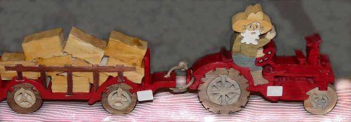 Le tracteur  25€ et la remorque 20€