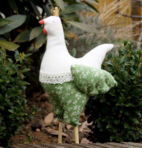 Petite poulette de Pâques