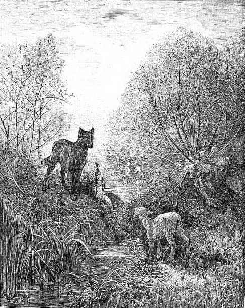Le loup ert l'agneau.jpg