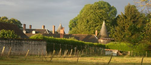 Champigny en Beauce au petit matin