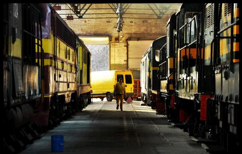 La passion du rail
