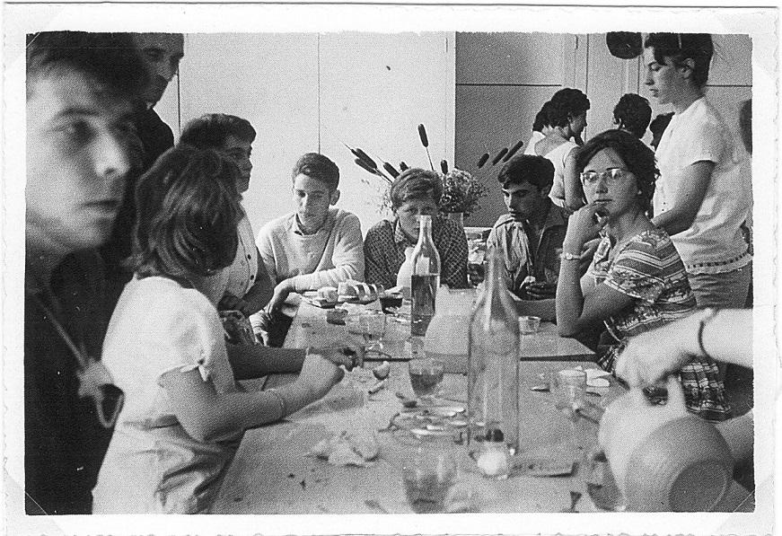 1961 Charance journée des parents le 23 juillet (9) Trois Vétérans.jpg