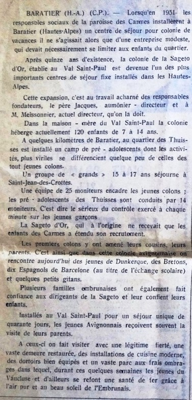 ARTICLE LE MERIDIONAL 1 AOUT 1965 (12) - Copie.JPG