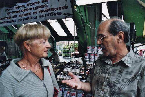 Au marché Jean-Talon