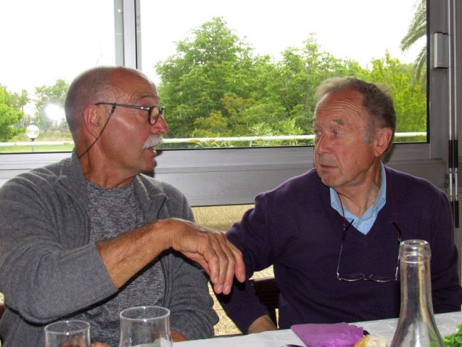Antoine Barbati et Guy Pierson.