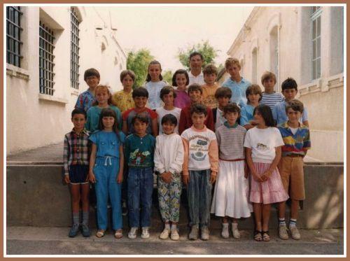 Ecole Marcel Pagnol CM1 en 1987