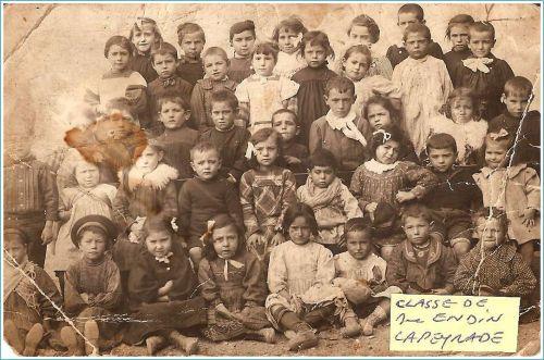 Ecole de La Peyrade début du 20eme siècle