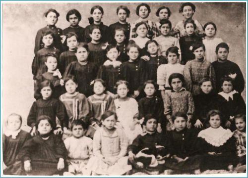 Ecole de La Peyrade en 1911