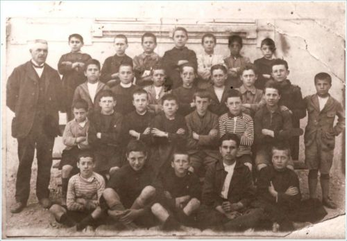 Ecole de La Peyrade en 1925