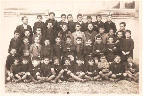Ecole de La Peyrade en 1929