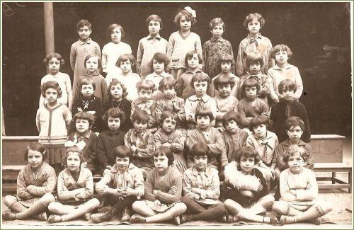 Ecole de La Peyrade en 1930