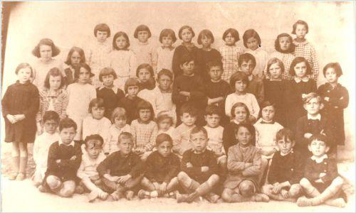 Ecole de La Peyrade en 1936