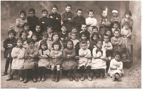 Ecole de La Peyrade en 1923