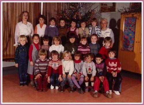 Ecole Les Lavandins maternelle 1981