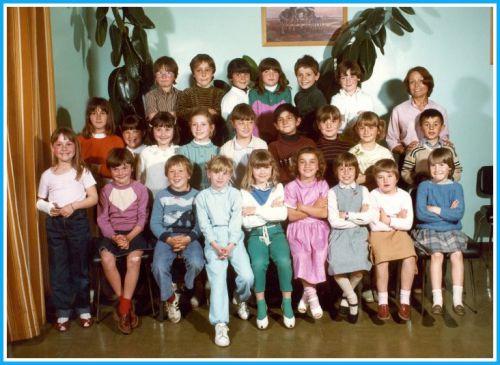 Ecole Les Lavandins CE1 1981