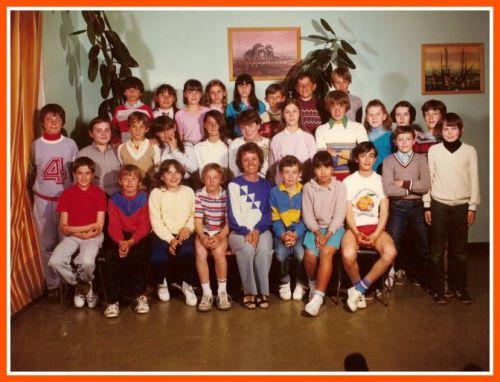 Ecole Les Lavandins CM2 1981