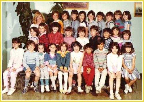 Ecole Les Lavandins CE2 1983