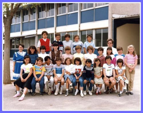 Ecole Les Lavandins CM1 1984