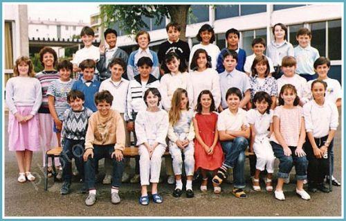 Ecole LesLavandins CM2 1985