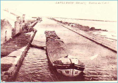 Canal des étangs 1920