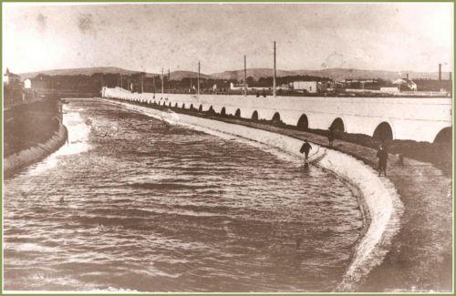 Chaussée de La Peyrade vers 1925