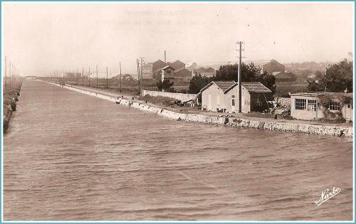 Canal des étangs années 1960