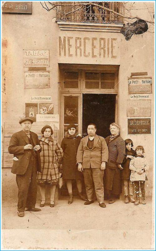 Commerce La Peyradois en 1930