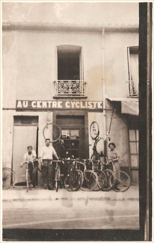 Au centre cycliste