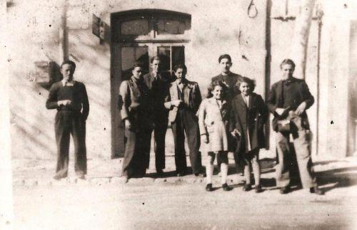 Au centre cycliste années 1950