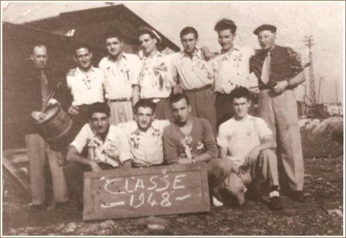 CONSCRITS LA PEYRADOIS EN 1948