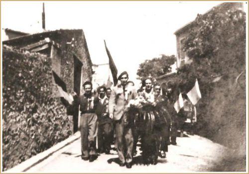 CONSCRITS LA PEYRADOIS EN 1946