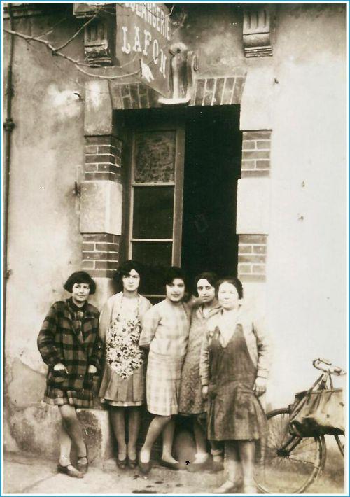 Boulangerie Lafon vers 1930