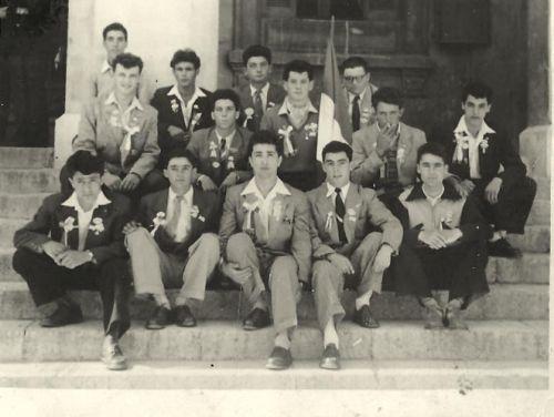 CONSCRITS LA PEYRADOIS EN 1953