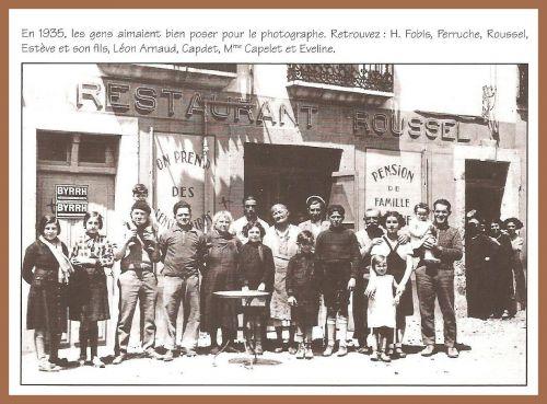 Restaurant Roussel en 1935