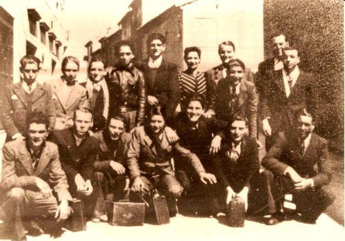 CONSCRITS LA PEYRADOIS EN 1943