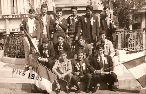 CONSCRITS LA PEYRADOIS EN 1965