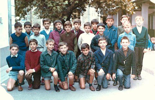 Ecole de La Peyrade en 1967