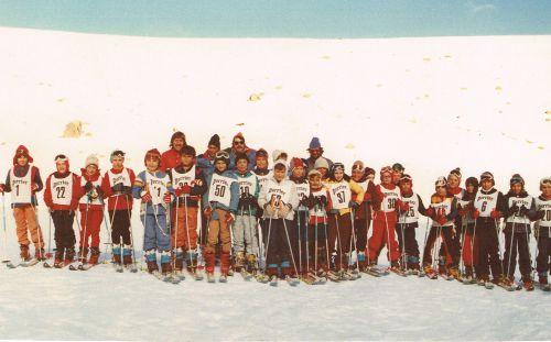 Ecole Marcel Pagnol CE2 1977 à Porté Puymorens