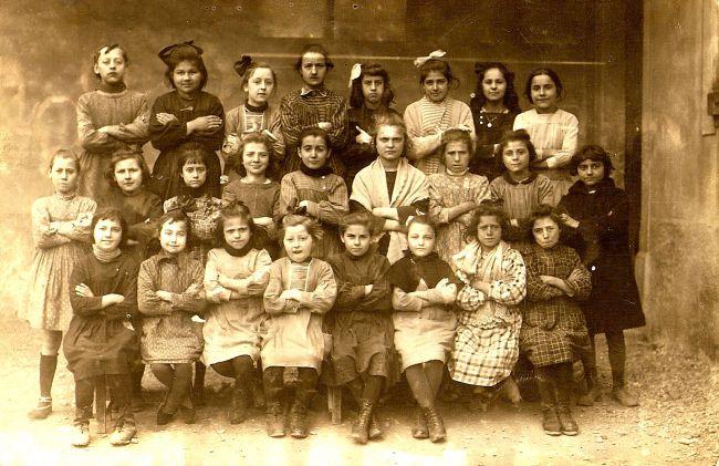 Ecole de La Peyrade vers 1920