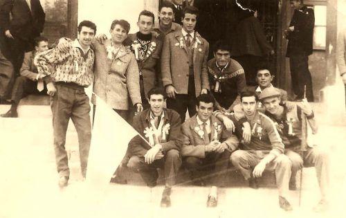 CONSCRITS LA PEYRADOIS EN 1956